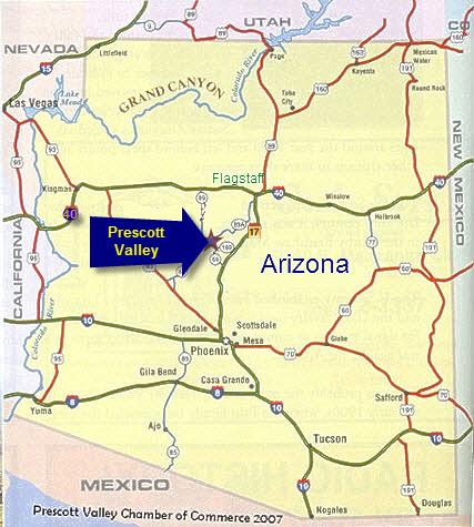 Northern Arizona UniversityYavapai - Map of northern arizona
