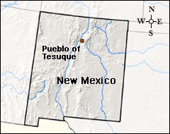 Pueblos New Mexico Map.Tribes Pueblo Of Tesuque Tribes Climate Change